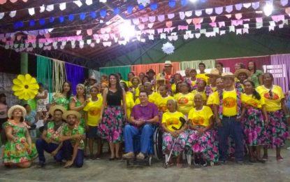 Arraiá do Cras de Jerumenha reúne idosos atendidos pela Assistência Social