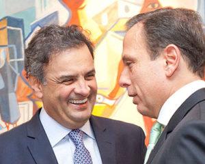 Aliados de Doria querem expulsão de Aécio do PSDB