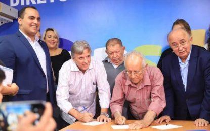 Renato Berger e Ananias Carvalho assinam filiação ao PSD de Georgiano