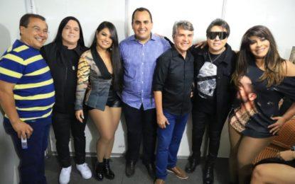 Jonas Moura e Georgiano Neto prestigiam Semana Cultura de Monsenhor Gil