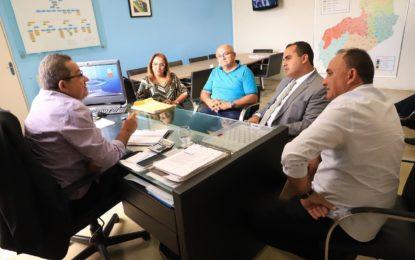 Prefeita de Guadalupe participa de audiência com presidente da Agespisa