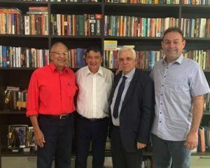 W.Dias recebe líderes da oposição em Teresina