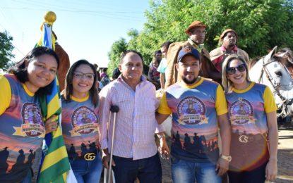Cavalgada marca a abertura do Dia do Vaqueiro em Marcos Parente