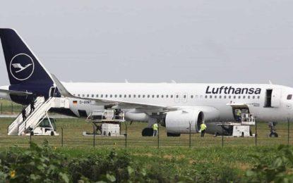 Avião da Lufthansa é evacuado após ameaça de bomba