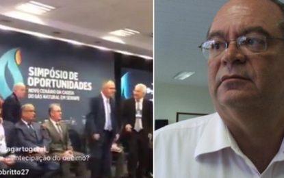 Empresário se mata em  evento com governador de Sergipe e ministro de Minas e Energia