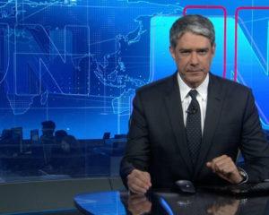 William Bonner se afasta do Jornal Nacional