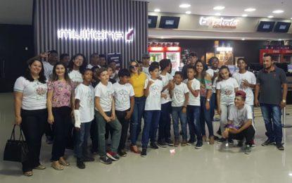 Crianças e adolescente assistidas pelo SCFV de Marcos Parente tiveram dois dias de muito aprendizado e diversão