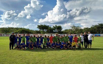 Escolinha Atletas de Landri Sales é destaque em programa esportivo da TV Clube