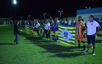Amistoso entre Guadalupe X Jerumenha inaugura iluminação do Estádio Júlio César
