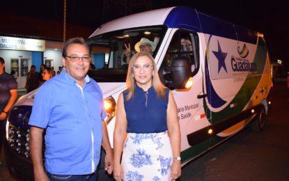Secretaria de Saúde de Guadalupe recebe novo veículo para transporte de pacientes