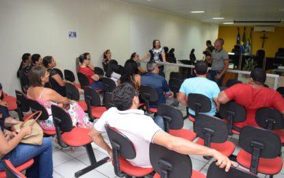 Técnico do MEC discute o Plano de Cargos e Salários em Guadalupe
