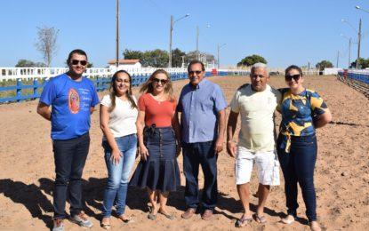 Parque Luís Romão está pronto para a vaquejada de Guadalupe; avalia gestão municipal