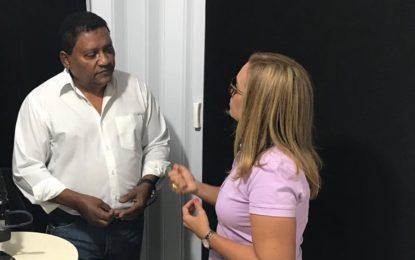 Prefeita de Guadalupe recebe a confirmação do apoio de Dr. Dilson Barbosa Gomes