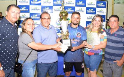 Boa Vista é o grande campeão do Torneio de Futsal de Férias 2019.2 em Guadalupe