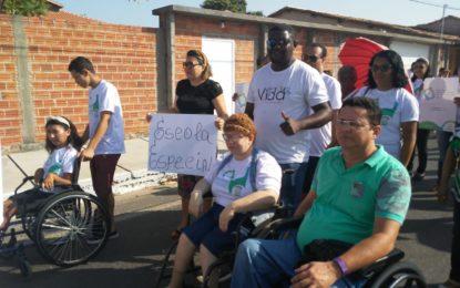 APAE de Jerumenha realiza caminhada abrindo a Semana da Pessoa com Deficiência Intelectual e Múltipla