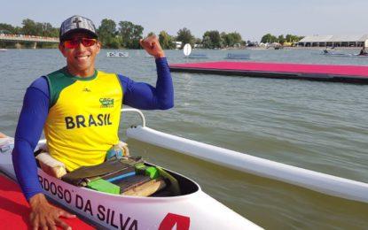 Piauiense Luís Cardoso ganha medalha de ouro no Mundial de paracanoagem