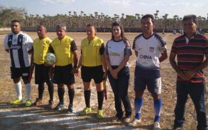 Prefeita Aldara participa da grande final do Campeonato Jerumenhense 2019