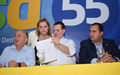 PSD vai filiar prefeitos em evento com a presença de Kassab
