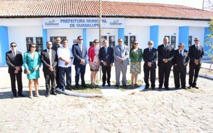 Comemorações do 7 de Setembro em Guadalupe inicia com hasteamento das bandeiras