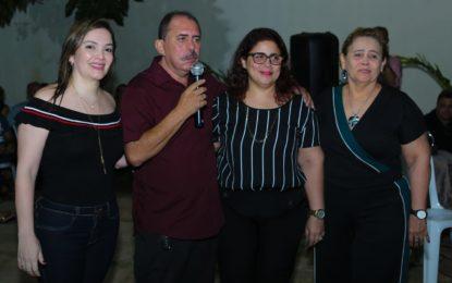 Patrícia Leal anuncia o seu pré-candidato a prefeito de Altos