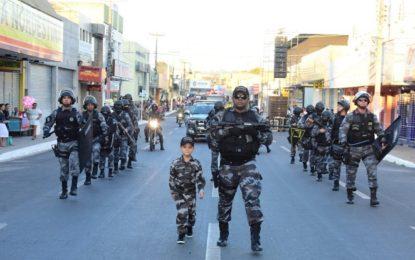 Desfile de 7 de Setembro encerra Semana da Pátria em Floriano