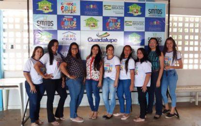 Programa Criança Feliz de Guadalupe recebe visita das multiplicadoras estaduais