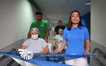 Fantástico: Filha adotiva doa o rim para salvar a sua mãe em Teresina