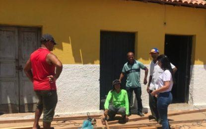 Prefeita Aldara faz vistoria em obras na zona rural de Jerumenha