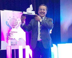 Água Branca ganha Prêmio Gestor Educador