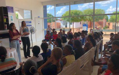 Prefeitura de Marcos Parente lança campanha Outubro Rosa e abre programação de ações de cuidado da saúde da mulher