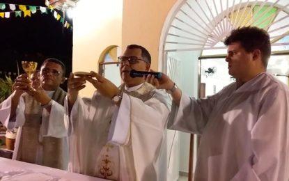 Bispo Dom Edivalter anuncia novo padre para a Paróquia de Guadalupe