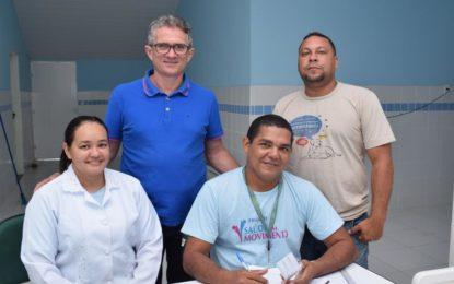Começou a vacinação contra o Sarampo no município de Guadalupe
