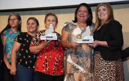Altos recebe prêmio da Undime-PI pelo desenvolvimento da Educação municipal