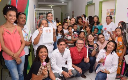 Secretaria de Saúde de Guadalupe promove várias ações destinadas às crianças