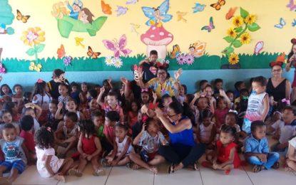 Escolas da rede municipal de Marcos Parente realizam festa para a criançada