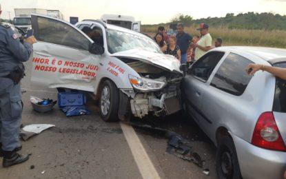 Grave acidente deixa vítima fatal na BR-135 no interior do Maranhão