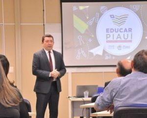 Secretário de Educação apresenta Educar Piauí aos órgãos de controle