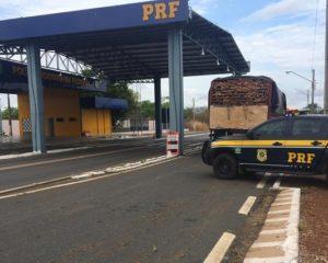 Carga de madeira é apreendida em Valença do Piauí
