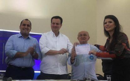 Prefeita Aldara Pinto filia-se ao PSD no 2° Encontro Regional da sigla
