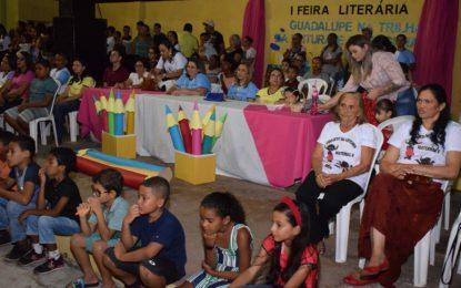 Secretaria de Educação de Guadalupe realiza a I Feira Literária