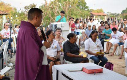 Missa no cemitério de Guadalupe fecha a programação do Dia de Finados