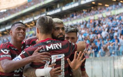 Flamengo vence o Grêmio com reservas e fica a uma vitória do título Brasileiro
