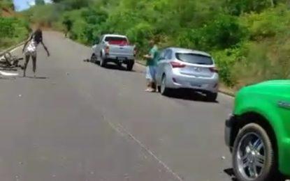 Acidente tira a vida de motociclista entre Marcos Parente e Landri Sales