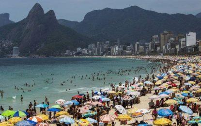 Rio tem dia mais quente do ano, com sensação térmica de mais de 50° C