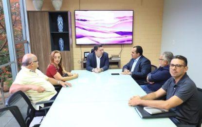 Georgiano Neto e a prefeita de Guadalupe tem audiência com o secretário Ellen Gera