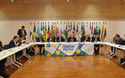 Conselho Político da CNM trata sobre cessão onerosa, royalties e saneamento