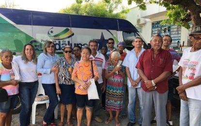 Prefeitura de Guadalupe encaminha pacientes para o Mutirão de Catarata em Floriano