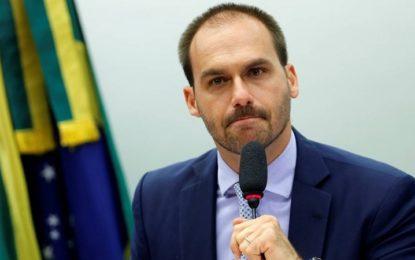 Conselho de Ética abre 2 processos contra Eduardo Bolsonaro