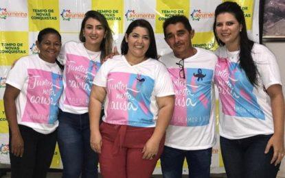 Secretaria de Saúde de Jerumenha realiza evento de prevenção ao câncer de próstata e de mama