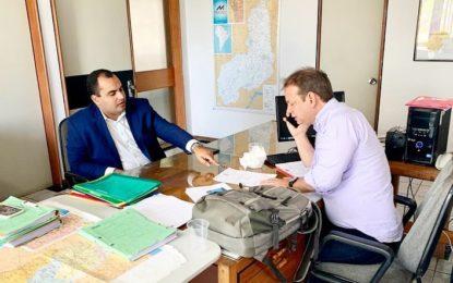 Georgiano Neto trata sobre assinatura do contrato para recuperação da estrada entre Guadalupe a Jerumenha